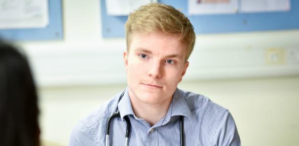 Medical Student sitting 1
