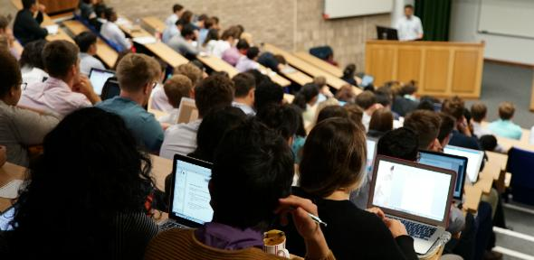 Medical Students in Lecture Theatre 2